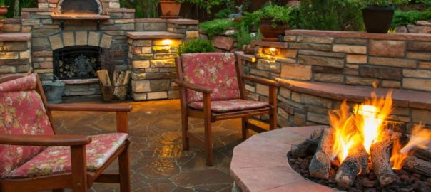 fire pit home projects